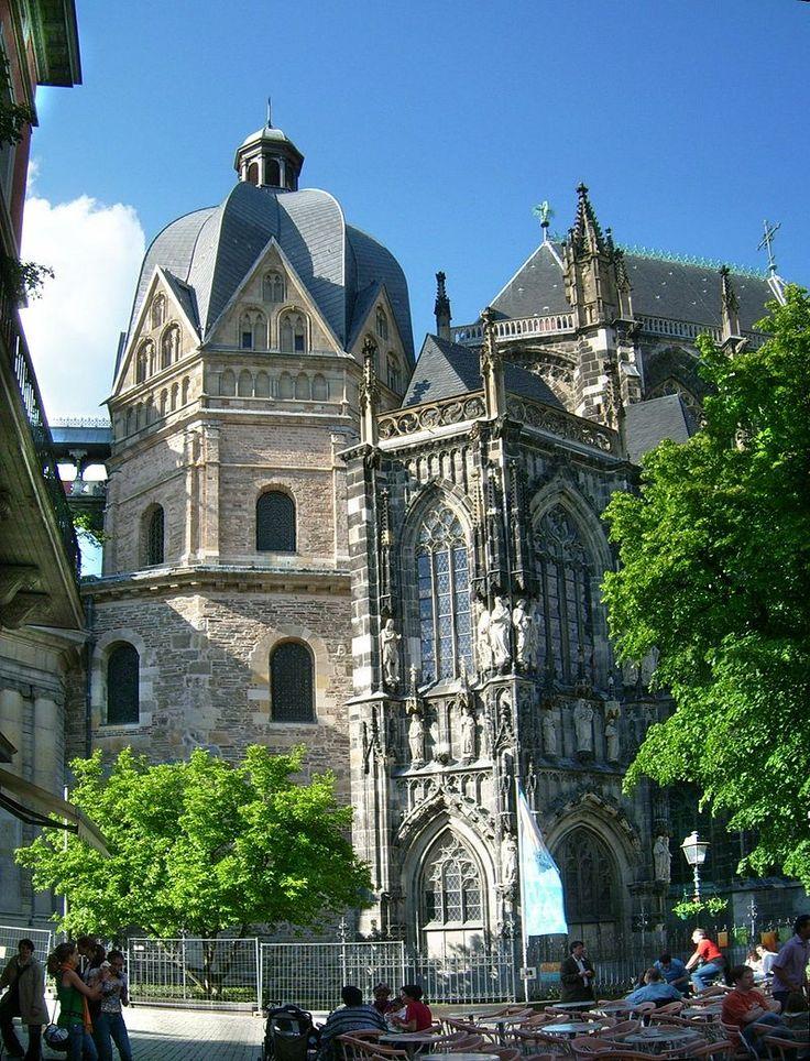 Aachener Dom Oktogon - Cappella Palatina di Aquisgrana - Wikipedia