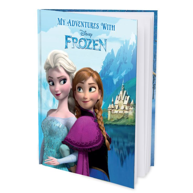 See how happy your child will be when they discover this personalized Disney Frozen book is all about them!