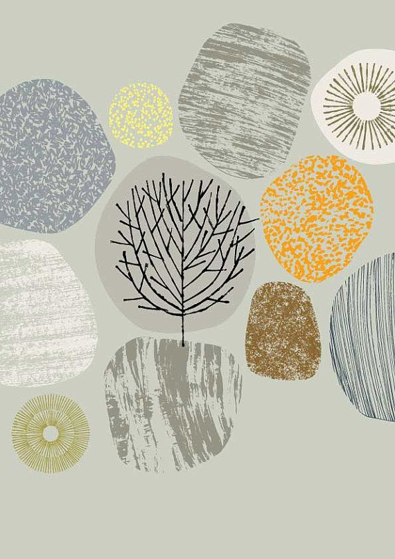 Nature No1 limited edition giclee print by EloiseRenouf on Etsy, $25.00