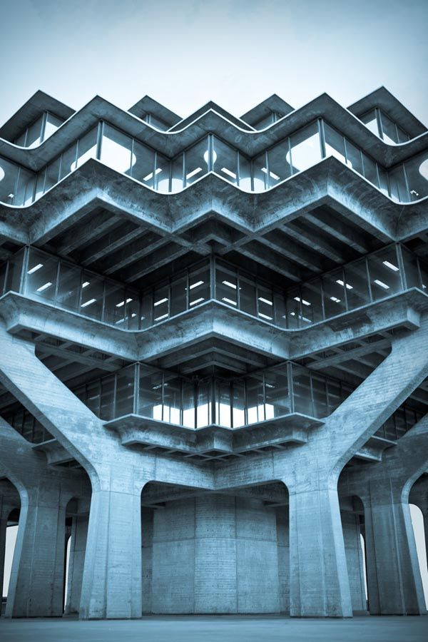Geisel Library at UCSD Campus (La Jolla) | photographed by Marcus Avedis