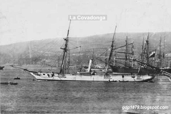 El Hundimiento de la Convadonga por Ernesto Linares Mascaro; El 13 de septiembre se recuerda el hundimiento de la goleta chilena ...