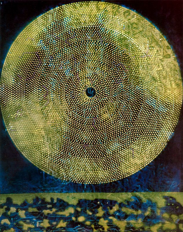 Birth of a galaxy Artist: Max Ernst Completion Date: 1969 Place of Creation: Paris, France Style: Surrealism Period: Second French period Genre: symbolic painting Technique: oil Material: canvas Dimensions: 92 x 73 cm