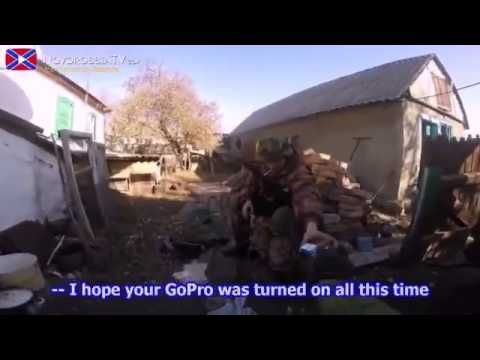War in Ukraine / Battle for village Nikishino (Near town Debaltsevo)