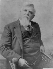 "Judge Isaac C. Parker, ""the Hanging Judge"" of Fort Smith, AR, 1896. He sent more than 70 men to the gallows."