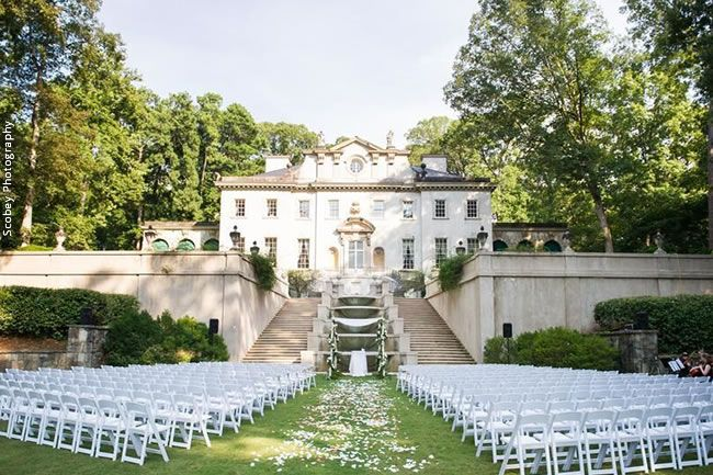 Distinctively Different: 9 Unique Wedding Venues in Atlanta // Atlanta History Center