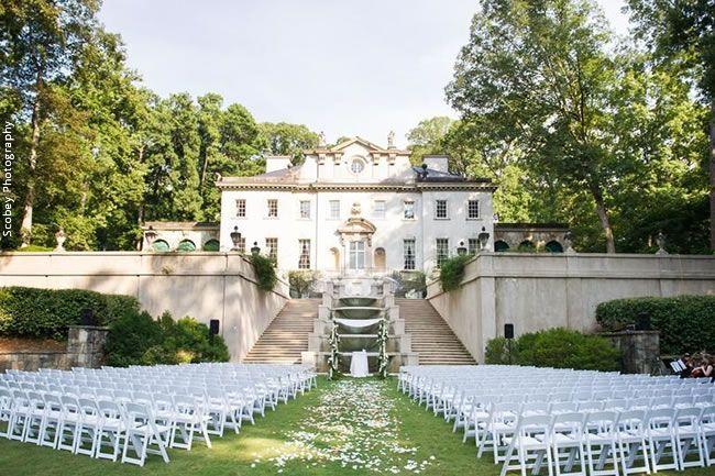 Distinctively Different: 9 Unique Wedding Venues in Atlanta // Atlanta History Center