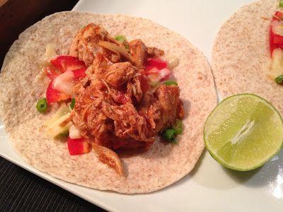 À porc egal: Effiloché de poulet pour tacos ou fajitas (à la mi...