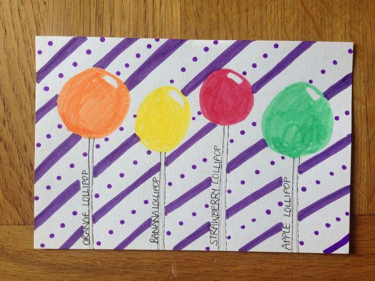 Day 37: lollipops