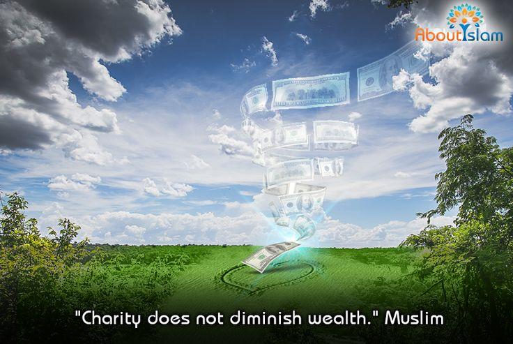 If you give, you will receive!  #Islam #Charity #Sadaqah