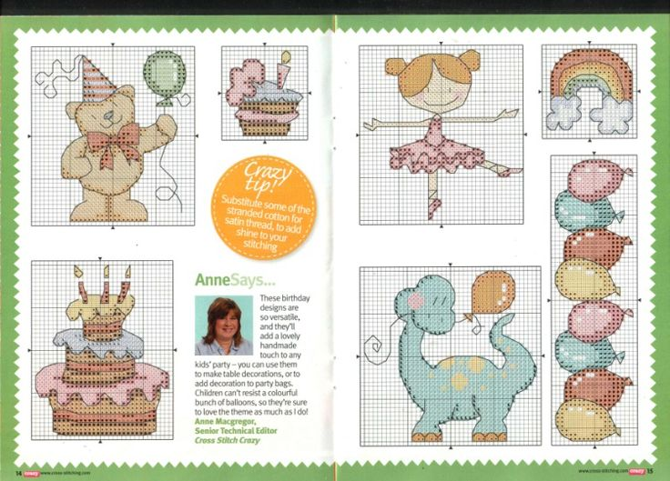 Gallery.ru / Фото #60 - Cross Stitch Crazy 160 февраль 2012 + приложение Free birthd - tymannost
