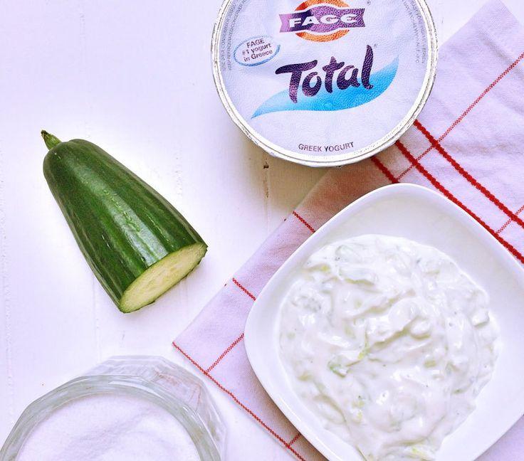 Unsere liebste Grillsauce: Griechische Joghurt Gurken Sauce aka Tsatsiki