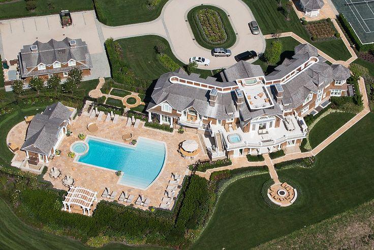 Hedge fund billionaire David Tepper just refurbished an oceanfront mansion in Sagaponack, New York