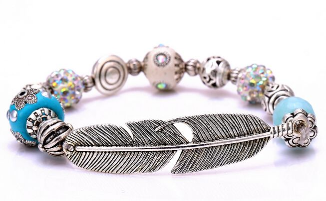 Find More Strand Bracelets Information about Zenper retro handmade Bracelets & Bangles ceramic ball Bangles Natural stone bead leaf bracelets for women Christmas gift L06,High Quality bracelet case,China bracelet warehouse Suppliers, Cheap bracelet strap from Yiwu zenper accessories crafts co.,ltd  on Aliexpress.com