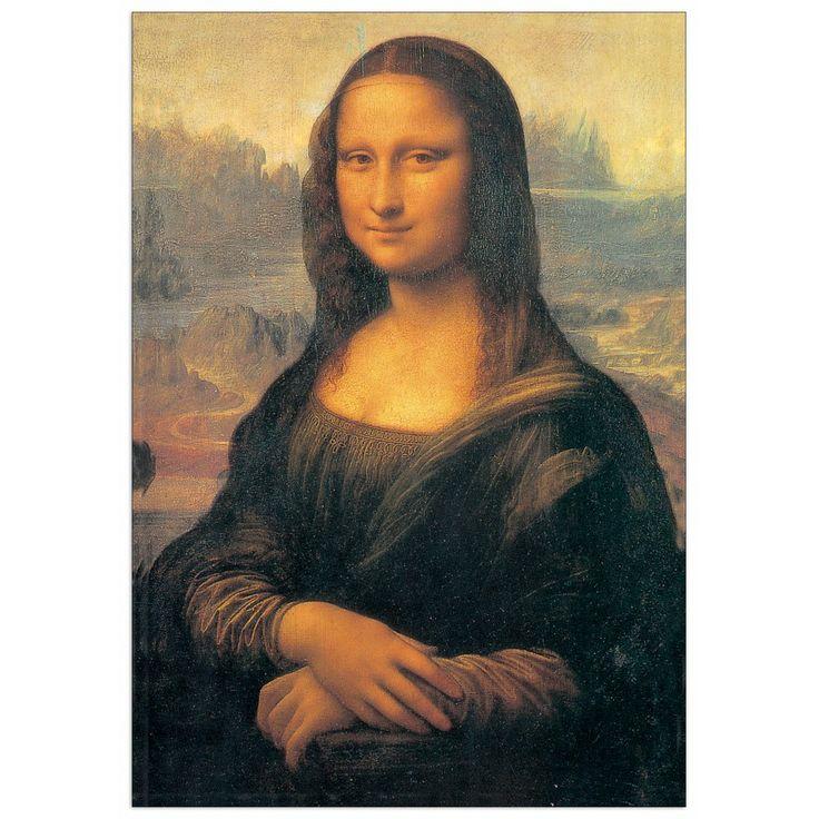 DA VINCI - MONNALISA 98x140 cm / 70x100 cm #artprints #interior #design #DaVinci #Leonardo Scopri Descrizione e Prezzo http://www.artopweb.com/autori/leonardo-da-vinci/EC15120