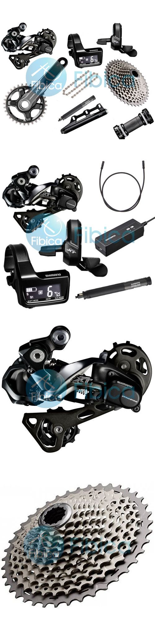 Build Kits and Gruppos 109120: New 2017 Shimano Deore Xt Di2 M8050 M8000 11-Speed Full Group Groupset 170/175Mm BUY IT NOW ONLY: $1169.99