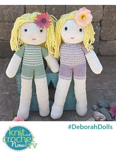 Knit And Crochet Today : ... Knit and Crochet Now family. Crochet Deborah https://www.anniescatalog
