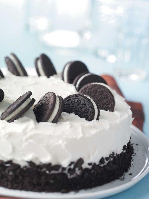 How to make Oreo Ice Cream Cake Recipe