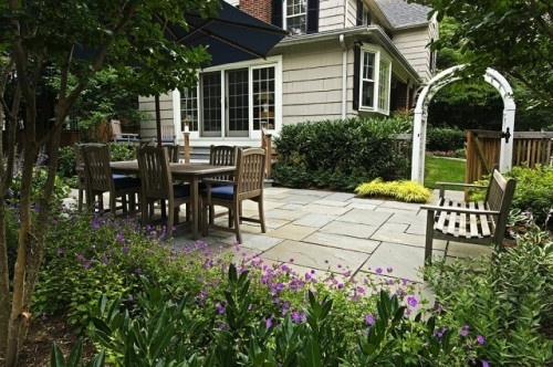 Great patio space!: Patio Design, Ideas, Outdoor Living, Cathy Carr, Traditional Landscape, Backyard, Landscapes, Photo