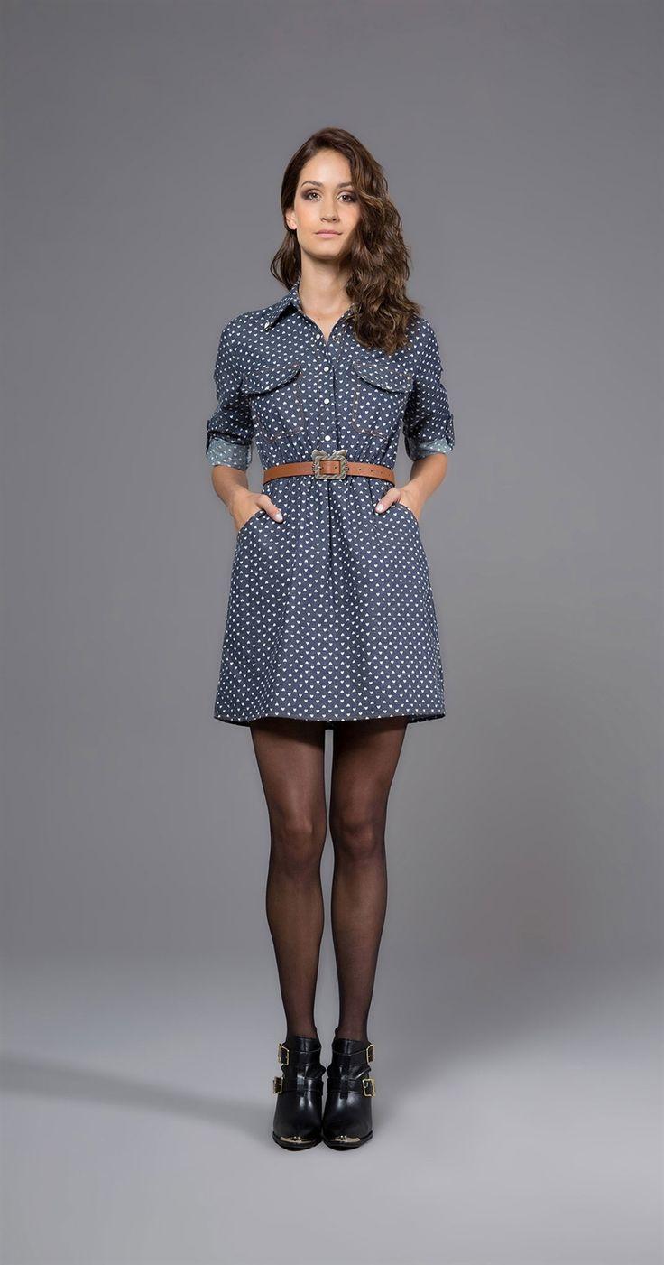 Vestido Mini Corações   Antix Store