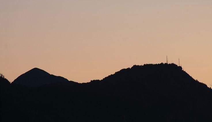 https://flic.kr/p/qb8ogz | Atardecer cerros orientales Bogotá
