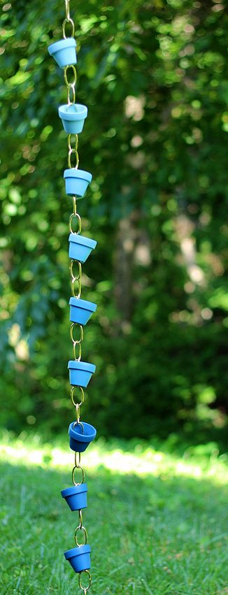 • Rain Chain • Garden Projects With Pots! • Tips, Ideas  Great Tutorials!
