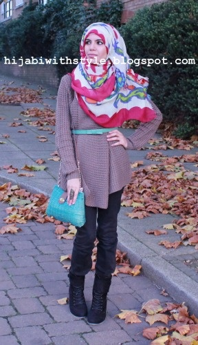 Hijabi with Style: Outfit of the Day: Autumn Chic