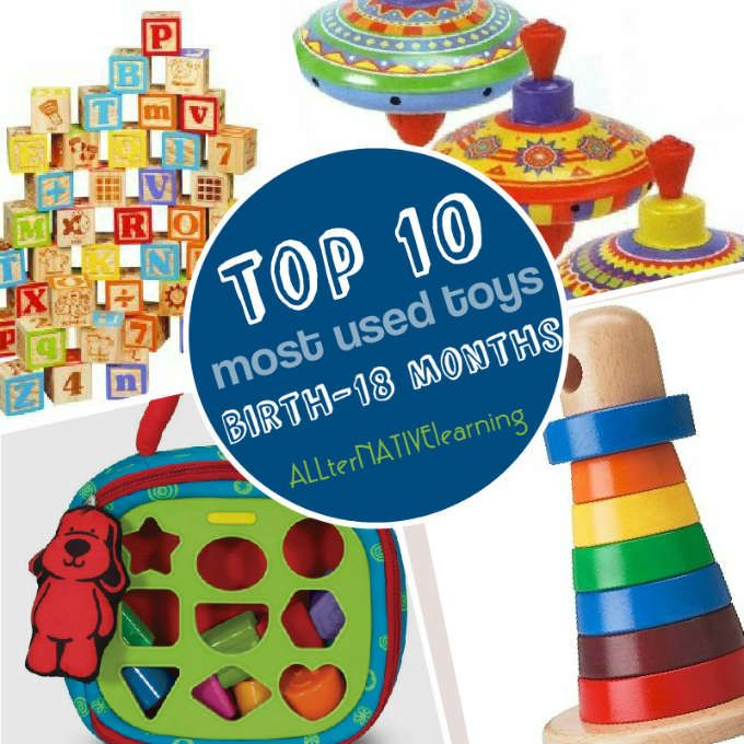 Get the most bang for your buck - the best toys for kids birth to 18 months  and beyond