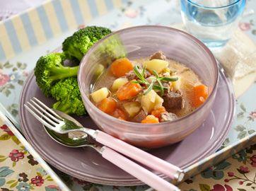 Lækker og sund gryderet med lammekød fra Familie Journals Slankeklub