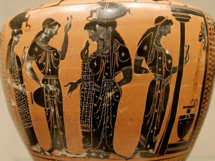 Greek pottery – Deep in the Heart of Textiles