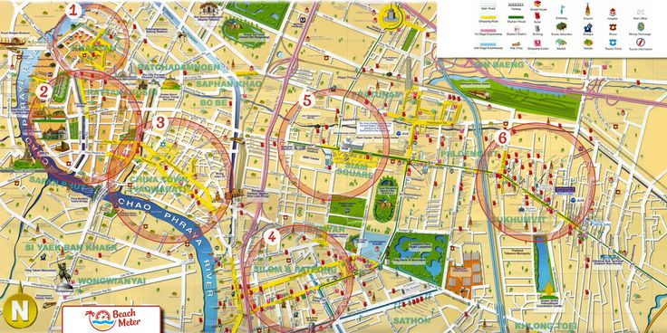 Bangkok Area Travel Guide - Get valuable information about the most popular areas in Thailand's capital, Bangkok, locally known as Krung Thep.