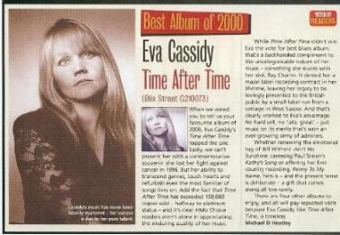 """EVA CASSIDY: """"THE EVA PHENOMENON"""" Eva was not a phenomenon, she was a real person. But the unexpected popularity of her music, which came along years after her death — that, truly…"""
