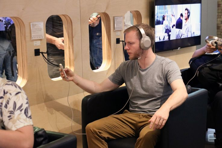 Sony put me in a fake plane to test its noise-cancelling headphones Sony makes an awful lot of headphones. Ranging from the cheap-but-passable to premium and pro-level items its been in the personal audio game for a long time. This year its following up on its award-winning wireless noise-cancelling MDR-1000X cans with the WH-1000XM2 adding more features and augmenting its already-capable noise cancellation skills. Naturally at a show like IFA that might not be enough to hold the attentions…