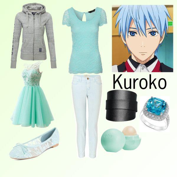 KNB- Kuroko by animedowntherunway on Polyvore