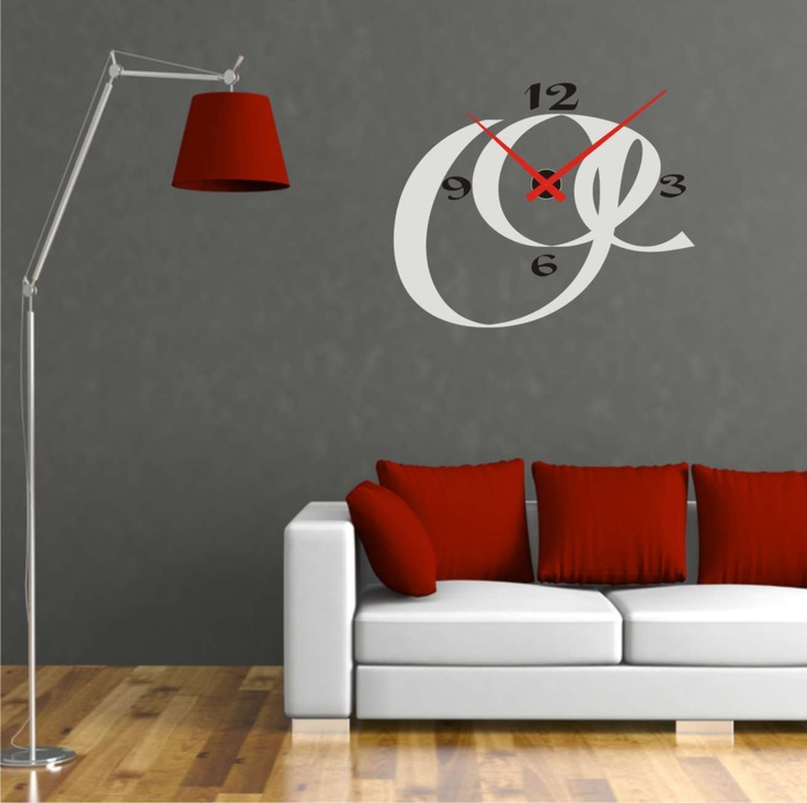 M s de 25 ideas incre bles sobre reloj pared adhesivo en for Relojes para salon