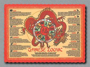 Lunar New Year placemats