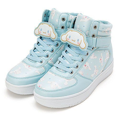 41154ad9be7b7 Sanrio Cinnamoroll character high-cut sneaker with clip M-L size W ...