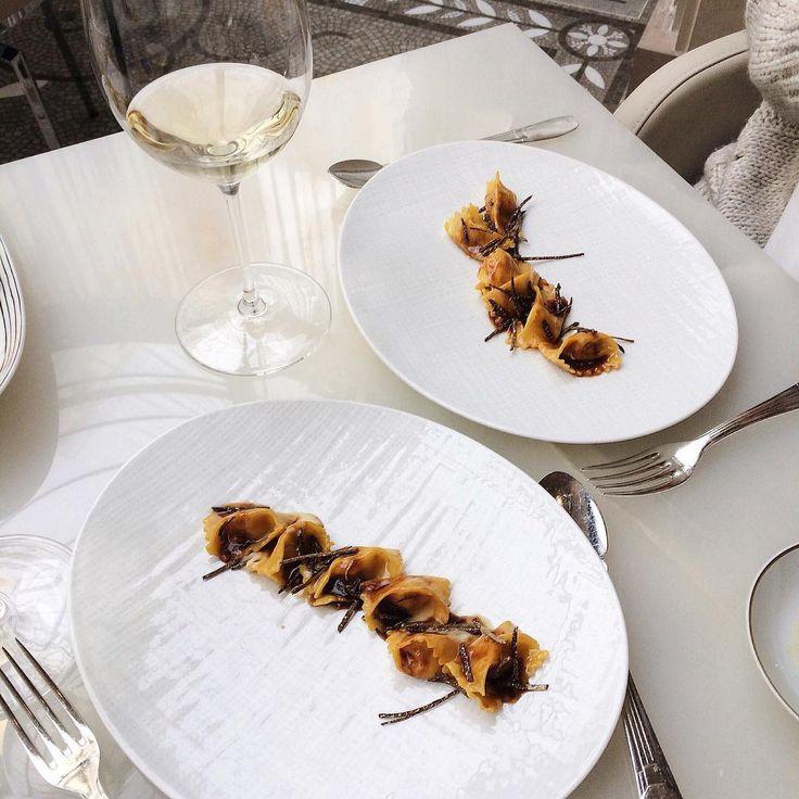 That's how we do pasta @ LeGeorgeParis ! Photo from @ floriane_lt