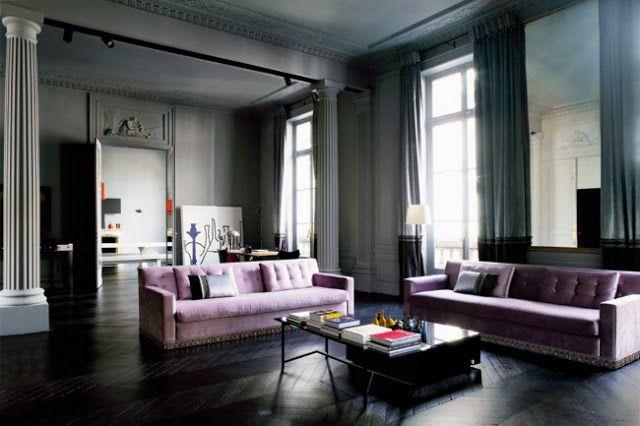 Kleur Corridor Appartement : Best déco appartement hausmannien images