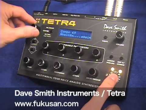 Dave Smith Instruments / Tetra / Demonstration Movie - YouTube