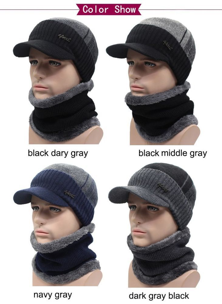 a13565bcca6 AETRUE Winter Hats Skullies Beanies Hat Winter Beanies For Men Women Wool  Scarf  fashion  clothing  shoes  accessories  mensaccessories  hats (ebay  link)