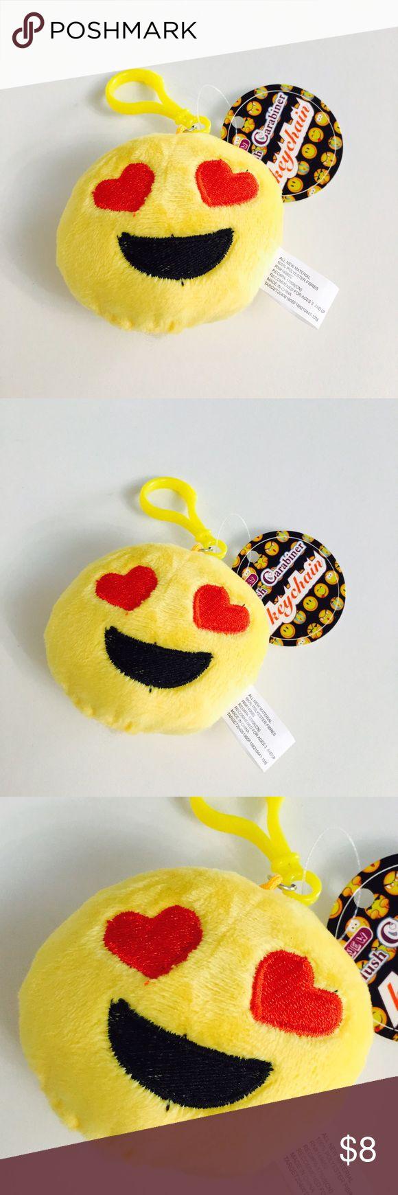 Emoji Heart Eyes Keychain! 🆕New!🆕 Accessories