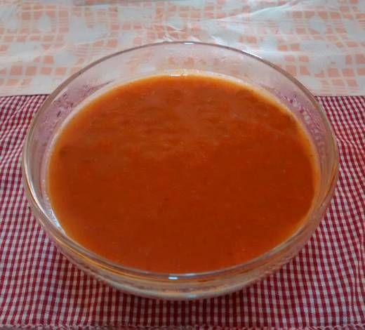 Passata o puré de tomates hecha en casa