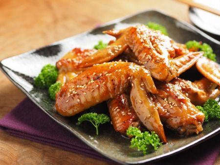∩・∀・)こんにちは~筋肉料理人です!フライパンで作る簡単!手羽先の照焼きレシ...