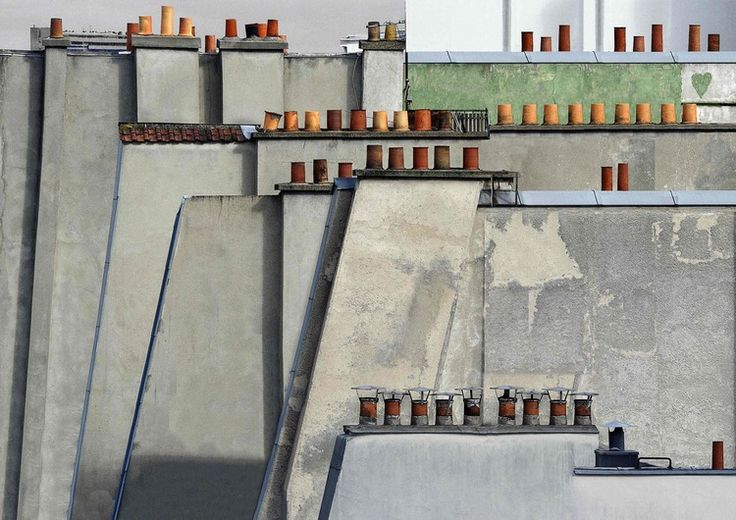 Paris Roof Tops by Michael Wolf
