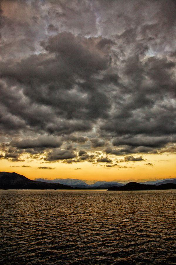 Storm Clouds, Corfu, Greece