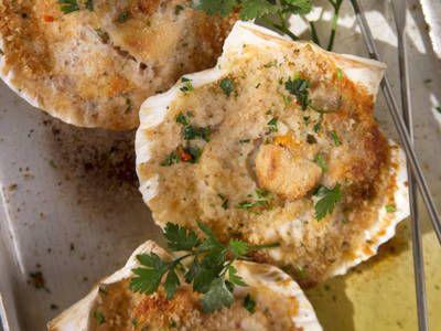 Herb Stuffed Clam Shells