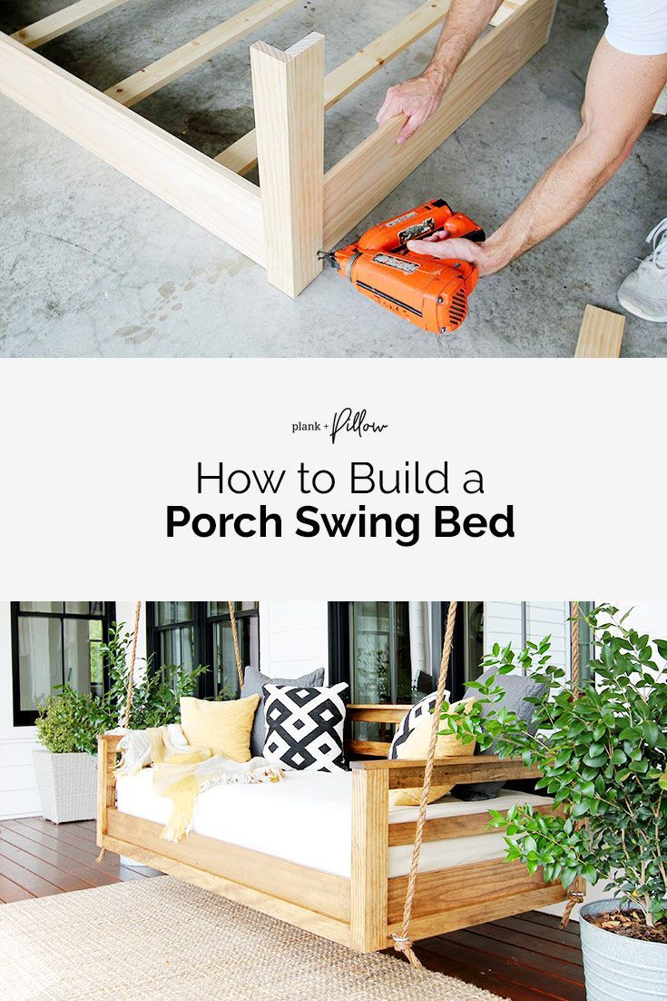 How To Build A Porch Swing Bed Porch Swing Bed Diy Porch Swing