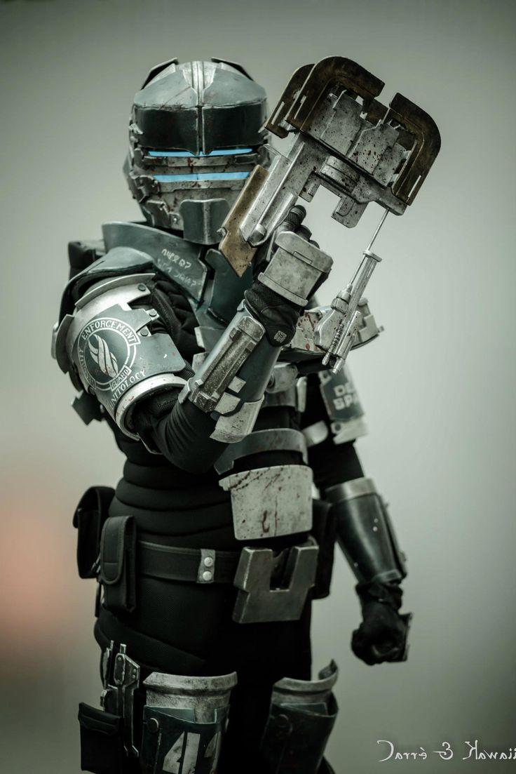 ... Suit Pepakura dead space 2 security suit cosplay dead space reference