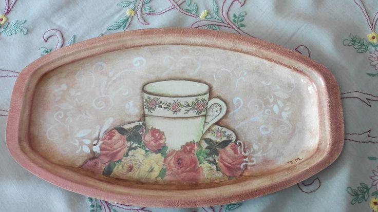 Ώρα για τσάι! Ντεκουπάζ σε δίσκο!