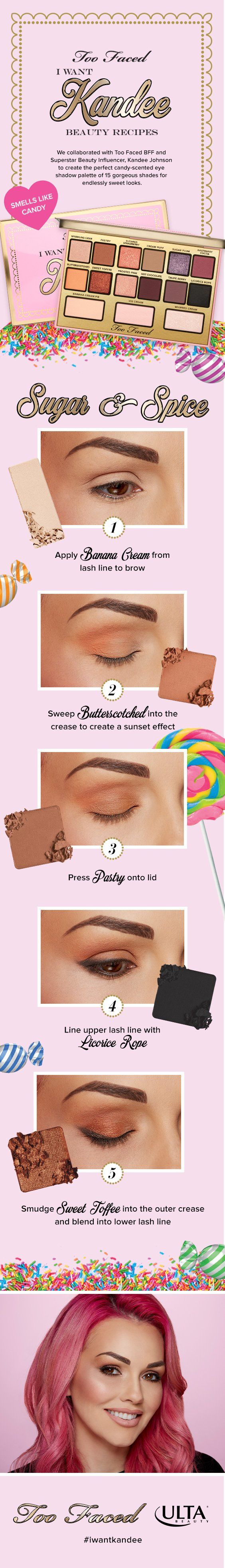 Sweet dreams do come true! Superstar beauty influencer Kandee Johnson has teamed up with Too Faced to bring you a new Ulta Beauty exclusive collection full of scent-sational, covetable treats.